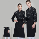 High-quality Fancy Italian Restuarant Chef Uniform of Cotton