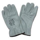 Gants en cuir de vachette Split Leather Hand Safety Safety Drives Gants