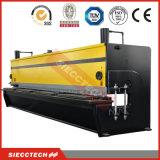 Metallblatt/-platte CNC-hydraulischer Guillotine-Ausschnitt/scherender Maschinen-Preis