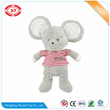 Mouse Grey Simple Soft Kids Plush Keychain Decorartion Toy