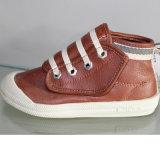 Salut le dessus élevé fait sur commande coupé de chaussures de toile d'injection badine des chaussures