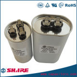 Capacitor metalizado Cbb65 de alumínio da película do Polypropylene do escudo