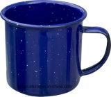 Пунктирной декор эмаль кружки и чашки с различными цветовыми