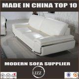 Fatto in sofà caldo del cuoio genuino di vendita della Cina