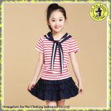 Uniforme scolaire primaire pour l'école avec des jupes d'uniforme scolaire