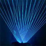 RVB 8000MW polychrome imperméabilisent l'éclairage mobile de laser de tête