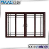 Het Dubbele Glijdende Venster van uitstekende kwaliteit van het Aluminium van het Glas met het Ontwerp van de Grill