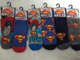Polyester 2%Spandex der 75% Baumwolle23% Wholesale Held-Muster-Socken für gute Qualität