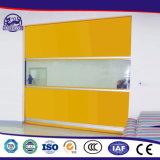 Interior Self-Repairing automático de rodadura del obturador de la puerta rápida de PVC