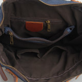 Sac de sac à dos d'épaule de sac à main de toile d'affaires (RS-7859B)