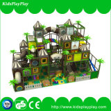 Equipamento de grossista Tree House Series playground coberto Naughty Castle