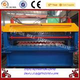 Máquina de la capa doble para el rodillo del metal de hoja que forma la máquina