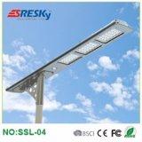 40W haute énergie tout dans une lampe carrée Integrated solaire de réverbère de DEL à vendre