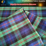 Spandex dell'assegno tinto filato della saia del poliestere/tessuto elastico di Shirting per l'indumento/pantaloni (YD1114)