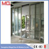 Chine Porte coulissante en verre trempé en alliage d'aluminium