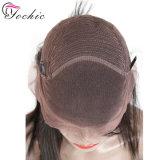 Прямой Малайзии кружева передней человеческого волоса парики с предварительно Plucked визирной линии 150 % / 180% плотность прямо кружева Wig передней панели