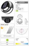 Lumière extérieure de jardin de lumière de mur de l'énergie solaire DEL de panneau solaire