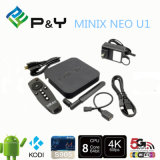 Néo- U1 TV faisceau androïde initial 2g/16g 2.4/5GHz H. 265 Hevc 4k ultra HD Xbmc I de quarte d'Amlogic S802 de cadre de Minix