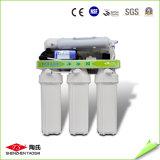 100g RO travando Auto-Flushing purificador de água