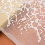 Los fabricantes Guangzhou bordados 100%poliéster tejido de encaje
