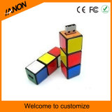 Magic Cube USB Flash Drive 2.0 USB Stick com cores misturadas