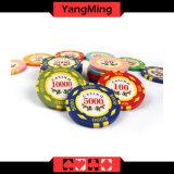 Exas Hold' Em/ Metal fichas de póquer para los Juegos de Casino con números de fichas de Casino Ym-Dz001