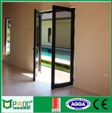 Portello di alluminio della stoffa per tendine con il doppio standard di vetro dell'Australia o lo standard del Ce