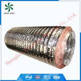 Condotto flessibile di alluminio dell'isolamento superiore della vetroresina per il sistema di HVAC
