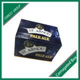 Impresiones de tamaño personalizado Caja de almacenamiento de vino o cerveza