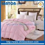 Poli della fibra di Hypoallgenic del materiale di riempimento Comforter bianco alternativo 100% giù