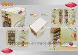 Grosse Größen-Fußboden-Papppapier-Bildschirmanzeige für Nahrungsmitteleinzelverkauf