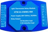 termostato silencioso de Bticino 504e do controlador do clima de Cassic do E-Quarto 100~240V (HTW-61-EW001)