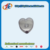 Jouet en plastique de cadre de boucle de bijou de forme de coeur de cadeau promotionnel
