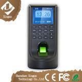 Control de acceso de la huella digital con la terminal de atención del tiempo, TCP/IP