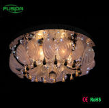 Iluminación LED de techo de cristal para la decoración casera