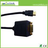 DVI gemella il cavo HD dei gemelli del cavo HDMI dei gemelli del RCA del cavo