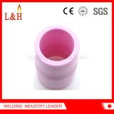 53n61L tipo largo de alúmina Boquilla de gas de la lente de la antorcha de soldadura TIG
