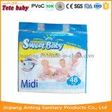 Manufatura descartável de Fujian do tecido do bebê em China (tecido de Sweetbaby)