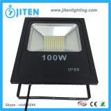 luz de inundación del jardín de 100W IP65 LED/reflector al aire libre