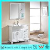 Vanidad Floor-Mounted del cuarto de baño del roble de madera sólida
