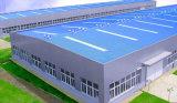 Costruzione d'acciaio del magazzino dell'ampia luce per la costruzione del magazzino