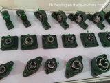 Brida de cuatro tornillos del rodamiento de bolas Fkd, Hhb, cojinetes de Fe