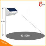 60levou Piscina Solar candeeiro de parede segurança alimentada a energia solar a luz do sensor de movimento