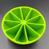 Bandeja de cubo de gelo de silicone com 100% de comida