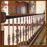 Крытая бронзовая алюминиевая балюстрада для Railing лестницы (SJ-B036)