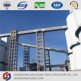 Sinoacme ha prefabbricato la struttura d'acciaio del trasportatore per l'industria chimica