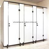 Blanco resistente al agua de la Escuela del Panel de HPL Partición armario Baño