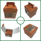 販売のための食品等級のコップのケーキの包装紙ボックス
