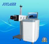 Code Qr en ligne Laser volant Date Code Marquage Bouteille Caps Laser Machine