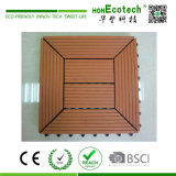 連結の木製のプラスチックバルコニーDIYのデッキのタイル